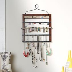 Hives and Honey 6008-073 Jewelry Organizer with Bracelet Hol