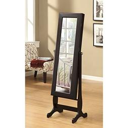 Coaster Home Furnishings Jewelry Cheval Mirror with Shelves