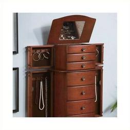 Coaster Home Furnishings 6-drawer Jewelry Armoire Warm Brown