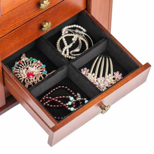 Extra Large Case Armoire Ring Necklacel Storage