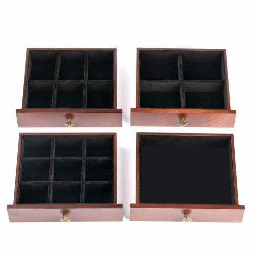 Extra Large Wooden Jewelry Case Necklacel Gift