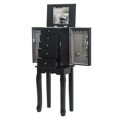 Free Stand Cabinet Armoire Chest Stand Organizer