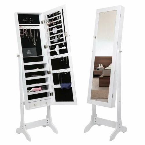 Free Standing Mirror Storage