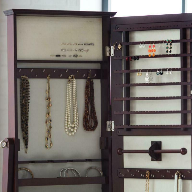 Full Length Cheval Mirror Jewelry