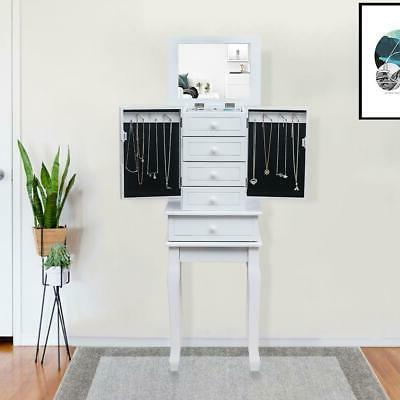 jewelry cabinet armoire storage chest stand box