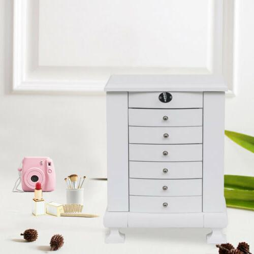 Large Box Armoire Necklace Organizer Chest Gift