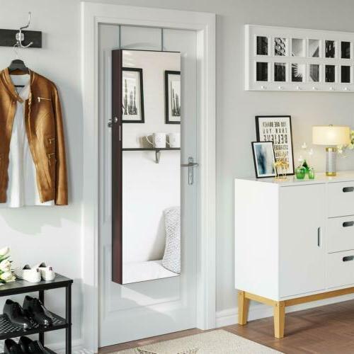 Larege Mirror Cabinet Armoire Organizer