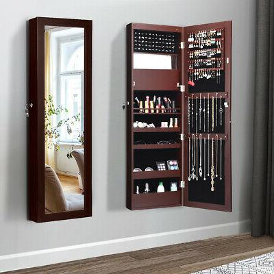 Lockable Cabinet Armoire Organizer Wall Mounted