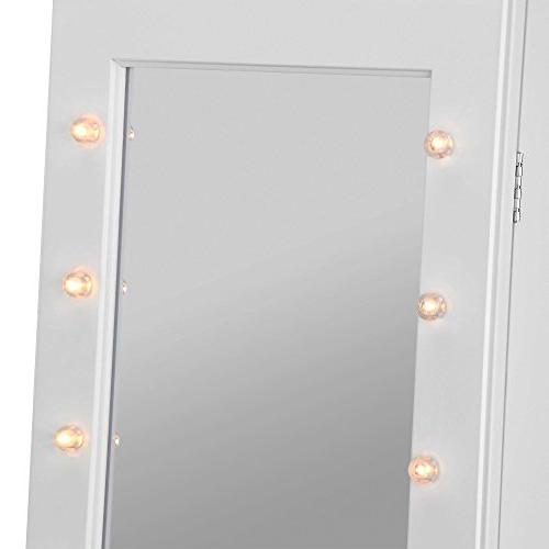 Beautify Mirrored Armoire with Mirror