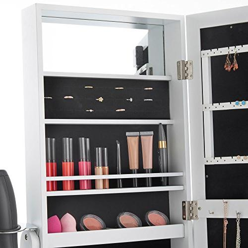 Beautify Jewelry Armoire with Floor with