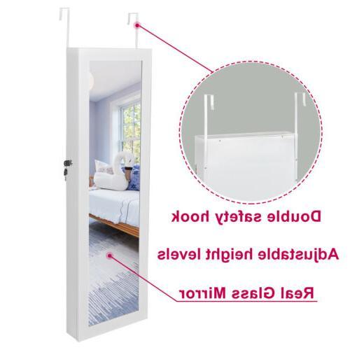 Mirrored Armoire Storage Organizer