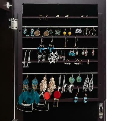 Mirrored Cabinet Armoire Organizer w/ Stand