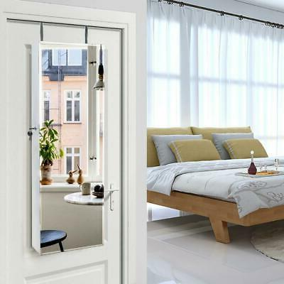 Beauty Door Hanging Jewelry Cabinet Armoire
