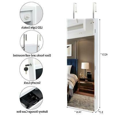 Beauty Door Wall Hanging Storage w/LED