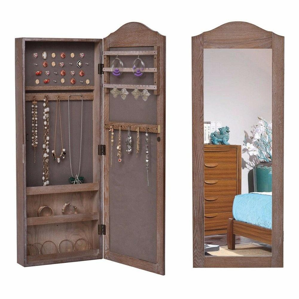 Wall Mounted Jewelry Armoire Furniture