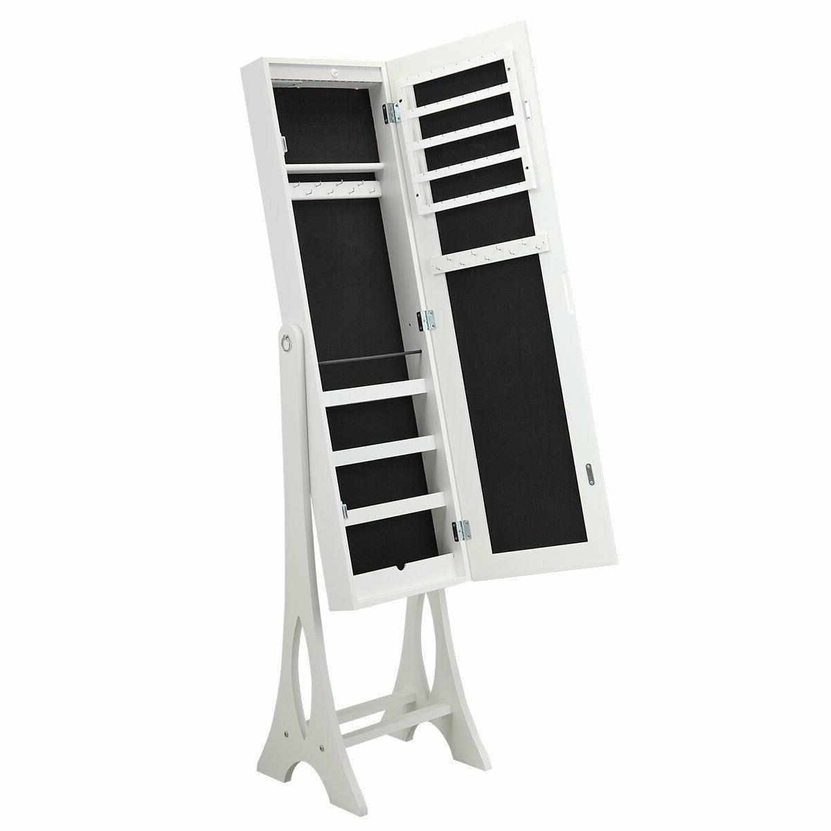 White Cabinet Armoire Storage Box