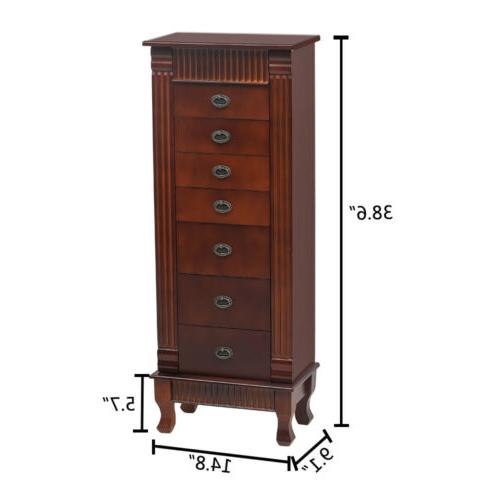 Wood Cabinet Armoire Box Chest Stand