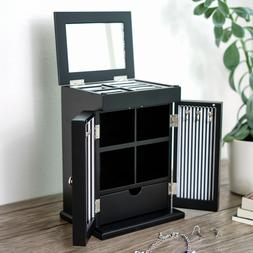 Hives and Honey Lexy Mirrored Jewelry Case Box Armoire Chest