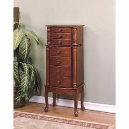 Powell Queen Anne Jewelry Armoire